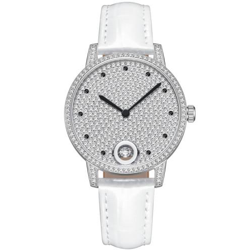 Leisure diamond inlaid ladies watch trendsetter fashion large dial quartz watch sky star watch