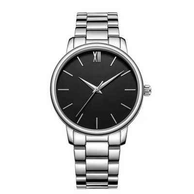 Hot selling quartz watches waterproof watch custom classic genuine leather quartz watch