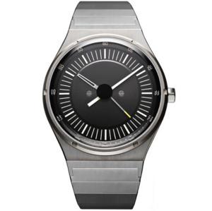 Stainless steel men simple wrist metal quartz watch waterproof retro custom men wrist watches