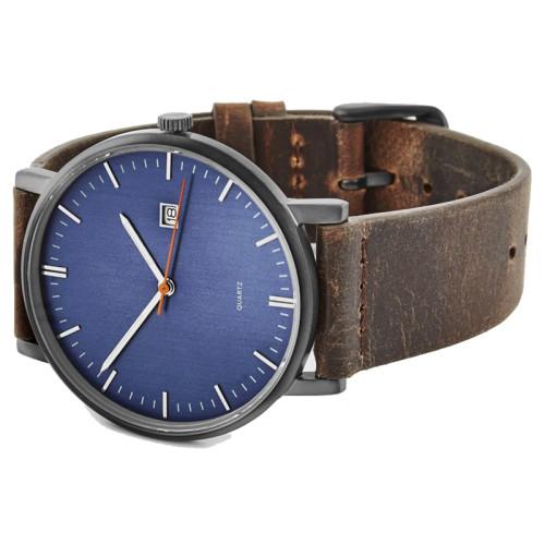 Luxury Quality Custom Brands Stainless Steel Quartz Watches for Men