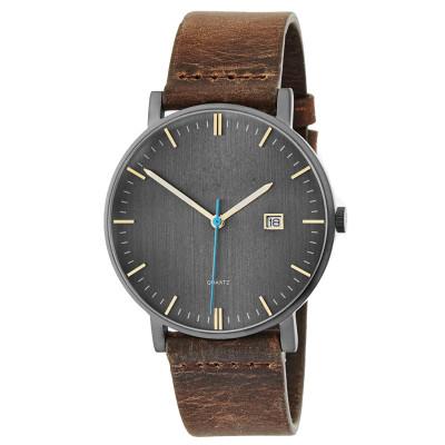 OEM Men Stainless Steel 3ATM Water Resistant  Watch Custom Logo Design Your Own Men Wrist Watch