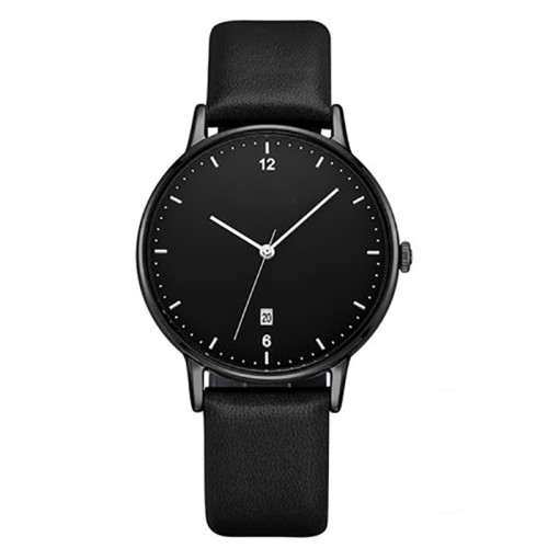 Stainless Steel Mesh Belt For Men Quartz Watches Wholesale Fashion Design Watch Black Business Custom Men Wristwatches