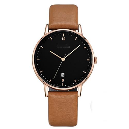 Design Watch Black Business Custom Men Wristwatches