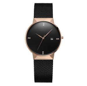 Hot Selling 2021 Luxury Simple Custom Logo Stainless Steel Vintage Women Quartz Watches Men Wrist Watch Low Moq