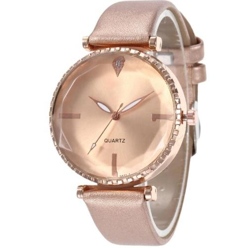 Top brand luxury women watches genuine leather lady quartz watch wrist