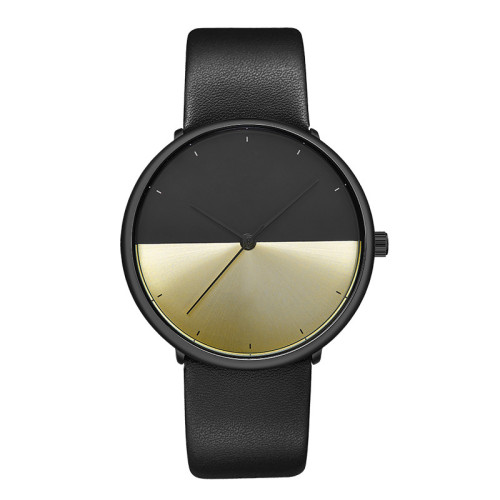 Simple Watches For Men Leather Band Fashion Unique Factory Direct Wrist Man Watch