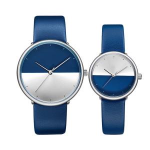 Custom Logo Low Moq High Quality Men Simple Wood Watch Leather Strap Wristwatch