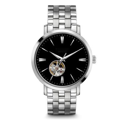 Rose Gold 40mm Dial Watch Men Leather Waterproof Wristwatch Male Dress Fashion Japan Quartz Simple Minimalist Watch