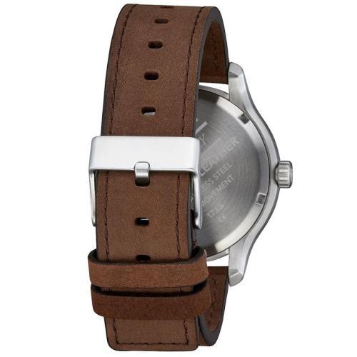 Simple Dial Retro Quartz Waterproof Genuine Leather Fashion Men Watches