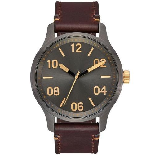 Retro custom your logo Japan movement quartz handwatch men's sport luminous watch