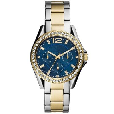 Wholesale custom brands watches women wrist luxury stainless steel gold color lady quartz watch