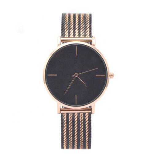 Fashion Sport Waterproof Wrist Watch Leather Stainless Steel Man Wristwatch Mens Quartz Watch