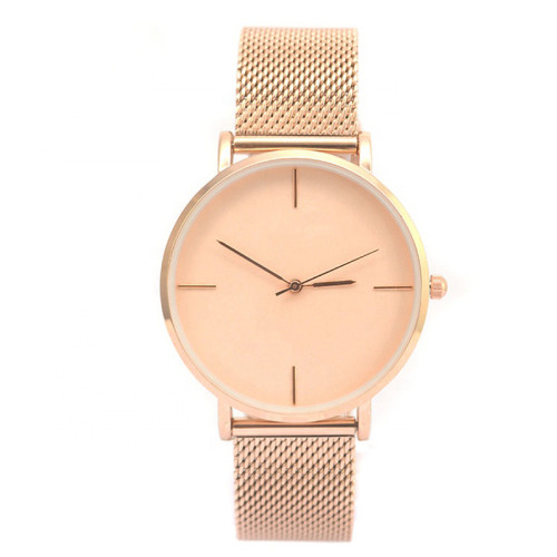 Stainless Steel Fashion Elegant Style Woman Watch New Model Hot Sell Quartz Watch