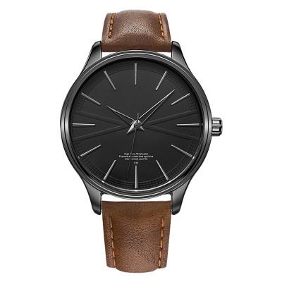 Minimalist Men's Fashion Ultra Thin Watches Simple Men Business Stainless Steel Quartz Watches