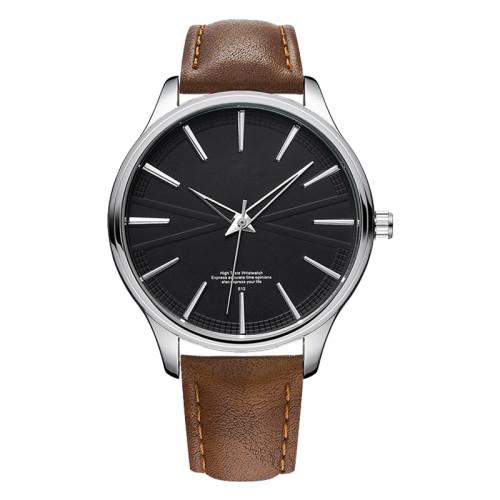 oem ultra thin stainless steel case japan movt custom logo men minimalist watch