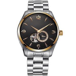 Ya Kang Men's Watches Luxury Brand Fashion New Design Watch Stainless Steel Mechanical Men Wristwatch