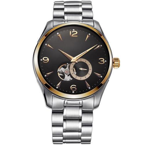 Wholesale custom logo watches female wrist luxury stainless steel automatic men quartz watch