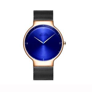 2021 Mens Watches Top Brand Luxury Black Round  Quartz Watch Man Waterproof Male Wristwatch Men