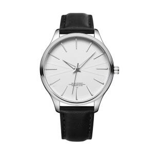 minimalist casual luxury Japan Miyota quartz movement custom OEM brand leather men wrist watch