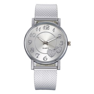 2021 Hot Sale Women Bracelet Luxury Watch Brand Ladies Dress Watch Leather Casual Silver Quartz Lady Wristwatches