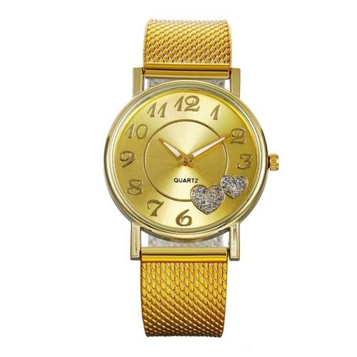 Best quality custom logo elegant lady wrist watch luxury fashion women diamond quartz watches