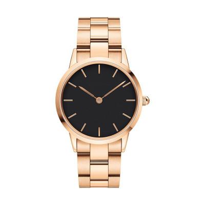 Hot Sale Luxury Fashion Stainless Steel Quartz Watch Men Wrist Watch