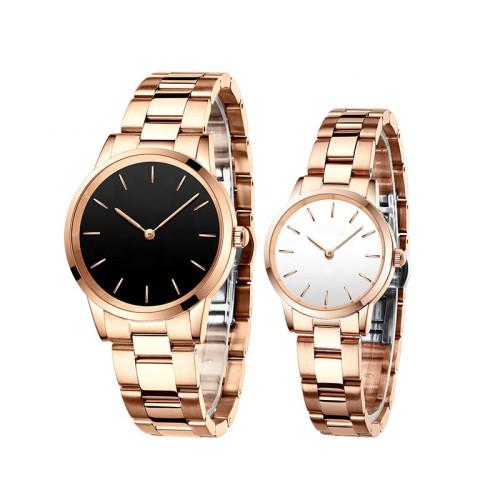 China Supplier Luxury Fashion Water Resistance Watch Couple Quartz Movement Watches