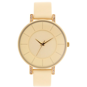 OEM Factory Thin Case Leather Strap Sport Minimalist Fashion Alloy Case Milano Women's Quartz Watches