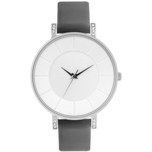 New Design Fashion Style Leather Minimalist Textured Dial Wrist Watch Lady Quartz Movement Watch