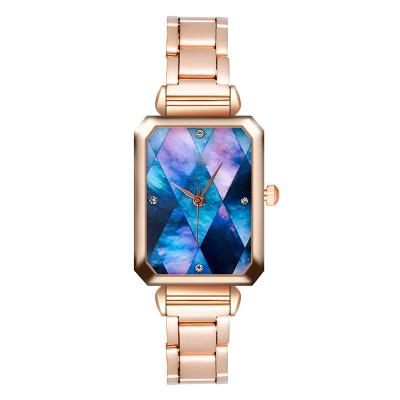 New Arrival rose gold luxury watch women custom logo waterproof wristwatch for lady