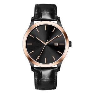 Men Watches Luxury Brand Quartz Genuine Leather Strap Minimalist Ultrathin Wrist Watches Waterproof High Quality