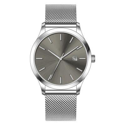 Wholesale Minimalist Waterproof Stainless Steel Designer Custom Logo Oem Montre Wrist Luxury Case Band Quartz Men Watch