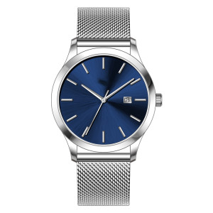 Simple Design Retro Analogue Limited Edition Quartz Watch With Stainless Steel Strap