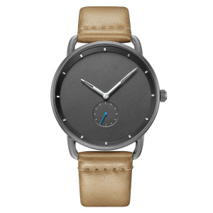 new style watch for man customized classic cheap leather mens watches clock