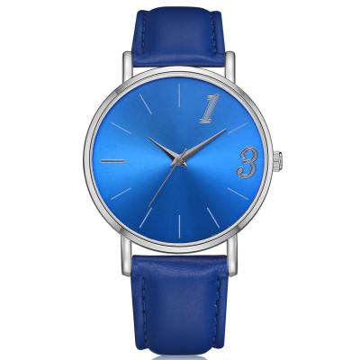 Fashion Leather Elegant Waterproof Wristwatch Office Lady Classic Quartz Watches Women Watch