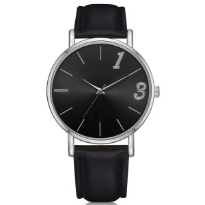 Highest Quality Factory Waterproof classic male wristwatches leather band business men Watches
