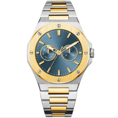 OEM Fashion Custom Quartz Watch Men's Luxury Stainless Steel Luminous Waterproof Men Watches