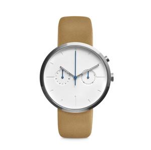 Simple Fashion Big Dial Men's Watch Student's Belt Quartz Watch Factory Wholesale