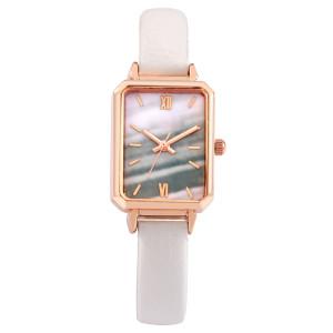 Square Rose Gold Quartz Watch Square Dial Luxury Face Women Watch OEM Supplier