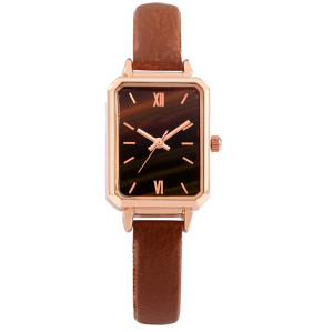 fashion square watch for woman alloy watch with custom logo timepieces