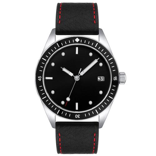 2021 minimalist custom fashion brand your name dress watch men