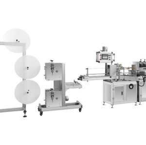 Paper straw making machine with auto paper splicing system