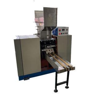Bendable paper straw making machine