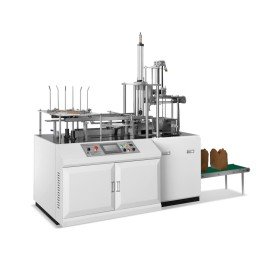 Paper thermo forming machine