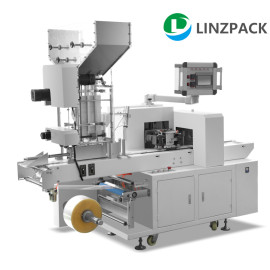 Bulk paper straw packaging machine