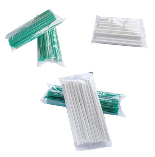 Bulk paper straw packaging machine