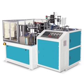 Paper lid making machine