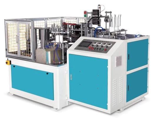 Paper lid making machine