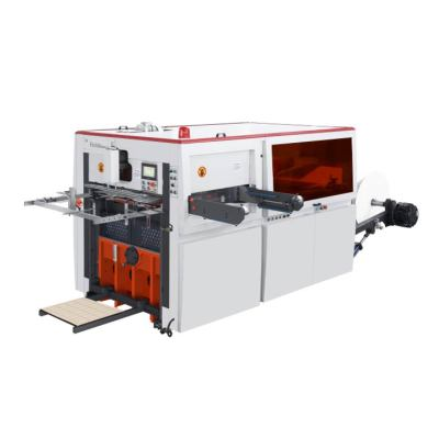 Paper roll die cutting mahcine for paper trays