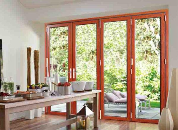 75 Wide Folding Door